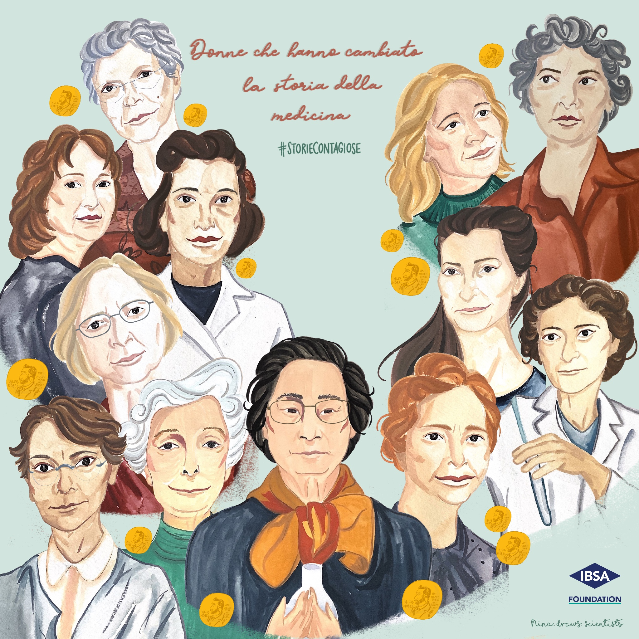 Women who changed the history of medicine_Group Portrait_MOB