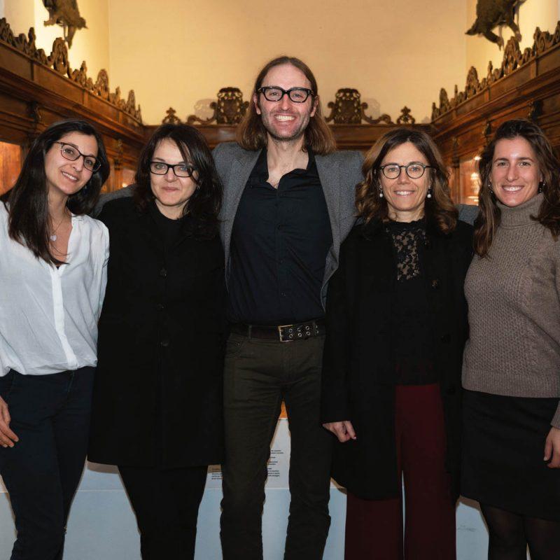 James Beacham a Milano per la Open Night, 15 Febbraio 2020.