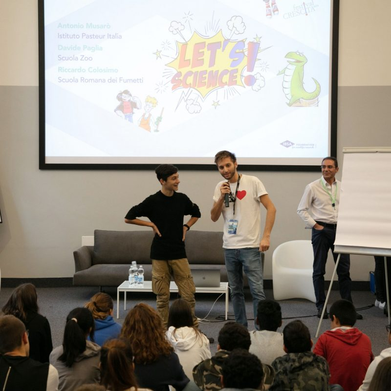 evento let's science