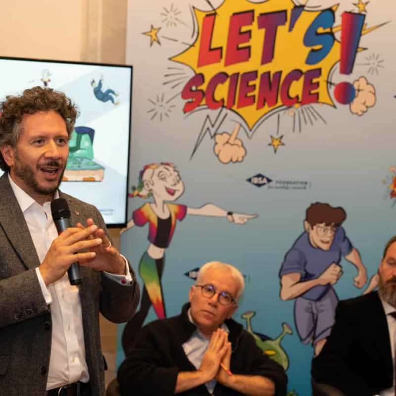 partecipanti e relatori evento let's science lugano 2019