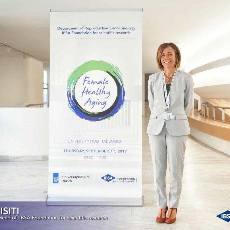 Silvia Misiti, direttore IBSA Foundation